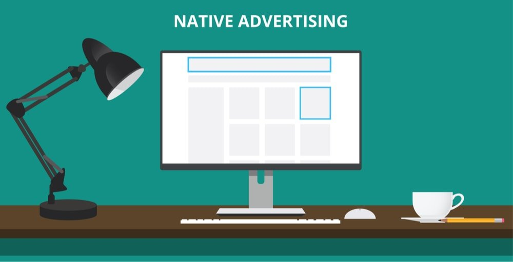 Native ad illustration