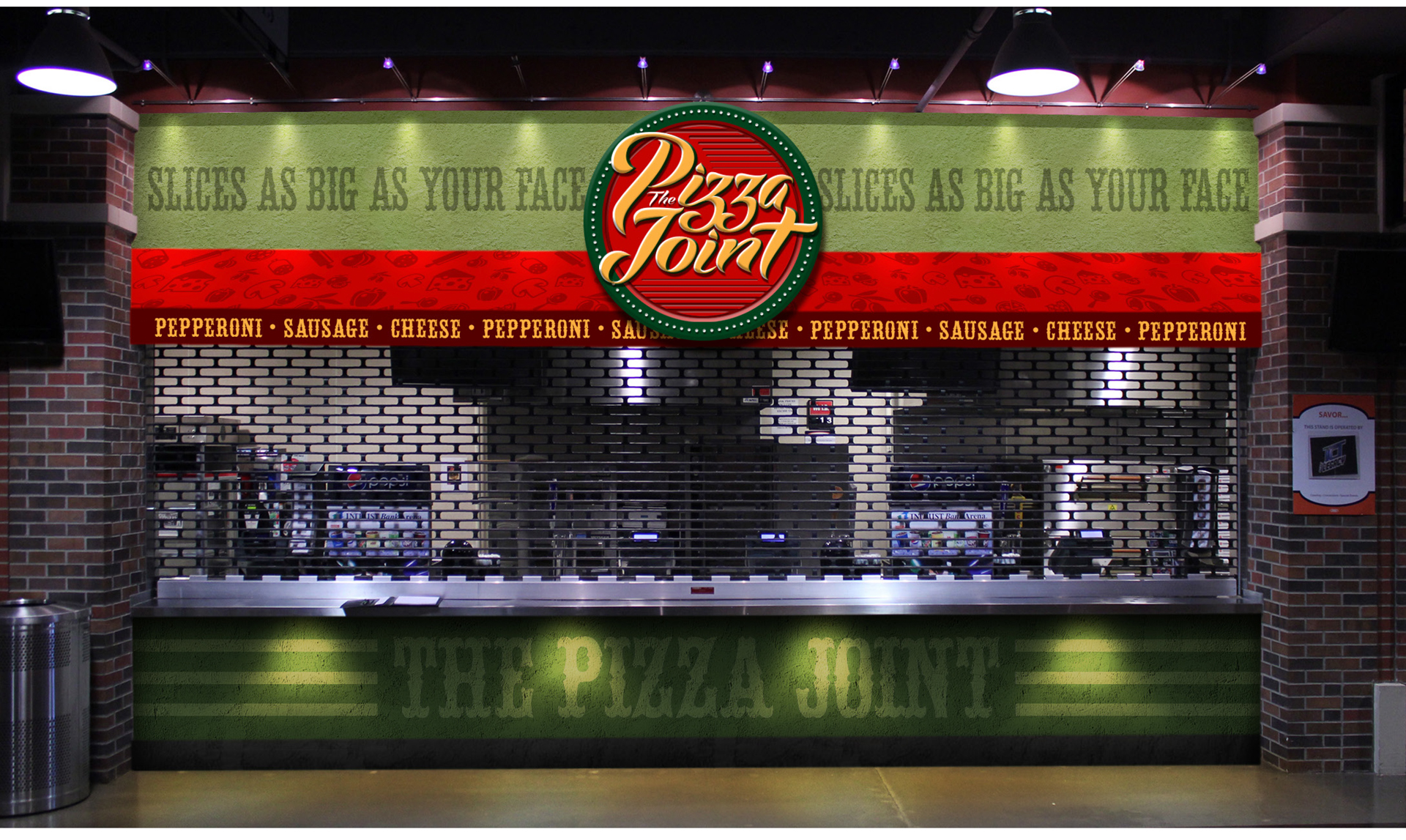 the pizza joint concession